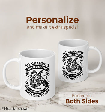 Only the Coolest (Nickname)s Ride Motorcycles - Mug - [variant_title]