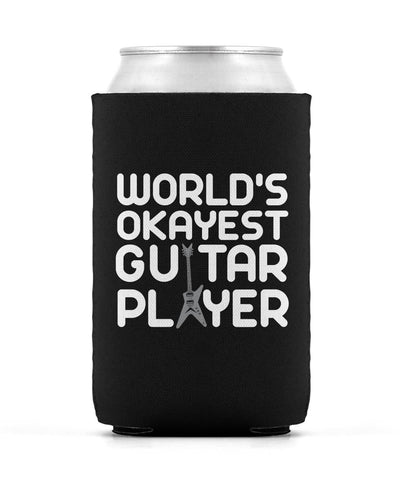 World's Okayest Guitar Player - Can Cooler