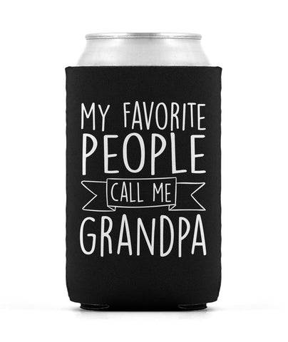 My Favorite People Call Me Grandpa - Can Cooler