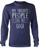 My Favorite People Call Me Gigi