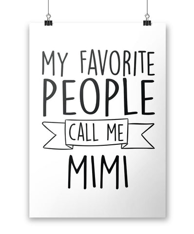 My Favorite People Call Me Mimi - Poster
