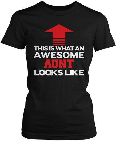 Awesome Aunt Women's Fit T-Shirt