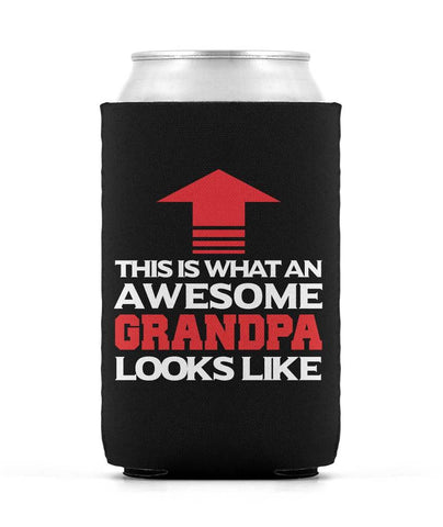 Awesome Grandpa - Can Cooler