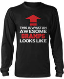 Awesome Gramps Long Sleeve T-Shirt