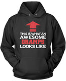 Awesome Gramps Pullover Hoodie Sweatshirt