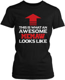 Awesome Memaw Women's Fit T-Shirt