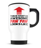 Awesome Paw Paw - Travel Mug