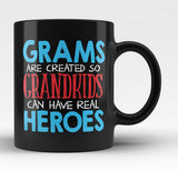 Grams - Grandkids Real Hero - Gramps Mug / Tea Cup