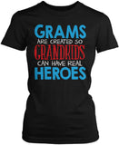 Grams - Grandkids Real Hero Women's Fit T-Shirt