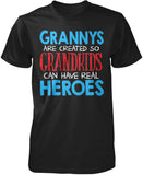 Grannys - Grandkids Real Hero T-Shirt