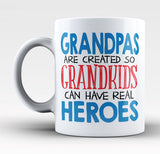 Grandpas - Grandkids Real Hero - Mug