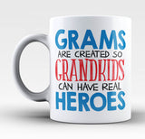 Grams - Grandkids Real Hero - Mug