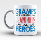 Gramps - Grandkids Real Hero - Mug