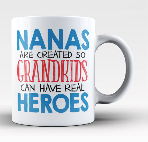 Nanas - Grandkids Real Hero - Coffee Mug / Tea Cup