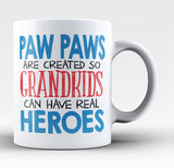 Paw Paws - Grandkids Real Hero Coffee Mug