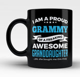 Proud Grammy of An Awesome Granddaughter - Mug