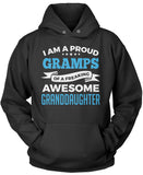 Proud Gramps of An Awesome Granddaughter Pullover Hoodie Sweatshirt