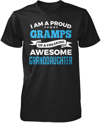 Proud Gramps of An Awesome Granddaughter T-Shirt