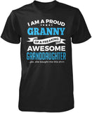 Proud Granny of An Awesome Granddaughter T-Shirt