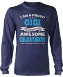 Proud Gigi of An Awesome Grandson