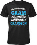 Proud Gram of An Awesome Grandson T-Shirt