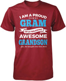 Proud Gram of An Awesome Grandson