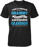 Proud Grammy of An Awesome Grandson T-Shirt