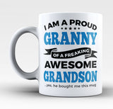 Proud Granny of An Awesome Grandson - Mug