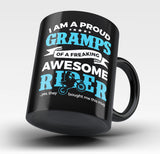 Proud Gramps of An Awesome Motocross Rider - Mug