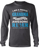 Proud Grandma of An Awesome Motocross Rider Longsleeve T-Shirt