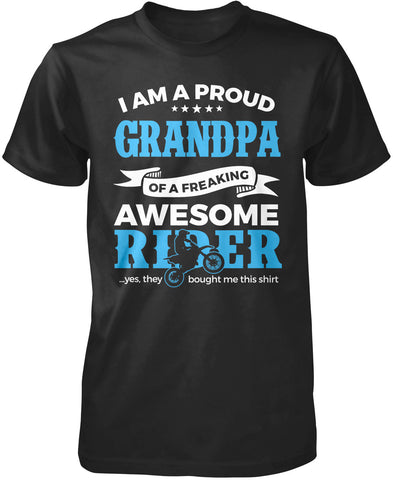 Proud Grandpa of An Awesome Motocross Rider T-Shirt