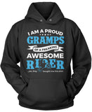 Proud Gramps of An Awesome Motocross Rider Pullover Hoodie Sweatshirt