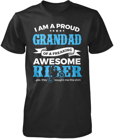Proud Grandad of An Awesome Motocross Rider T-Shirt