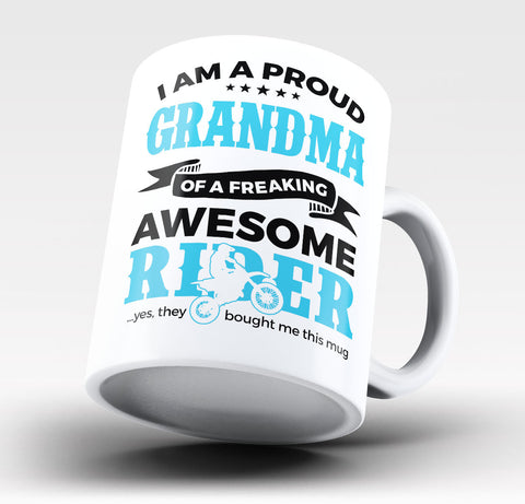 Proud Grandma of An Awesome Motocross Rider Coffee Mug