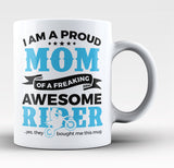 Proud Mom of An Awesome Motocross Rider - Coffee Mug / Tea Cup
