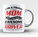 Proud Grandpa of An Awesome Driver Coffee Mug