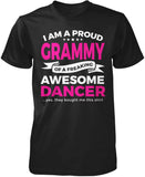 Proud Grammy of An Awesome Dancer T-Shirt