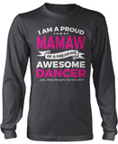 Proud Mamaw of An Awesome Dancer