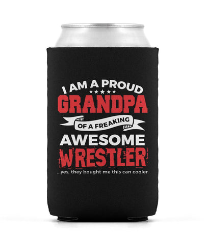 Proud Grandpa of An Awesome Wrestler - Can Cooler