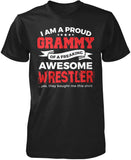 Proud Grammy of An Awesome Wrestler T-Shirt
