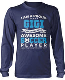 Proud Gigi of An Awesome Soccer Player Longsleeve T-Shirt