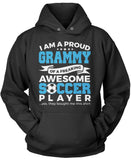 Proud Grammy of An Awesome Soccer Player Pullover Hoodie Sweatshirt