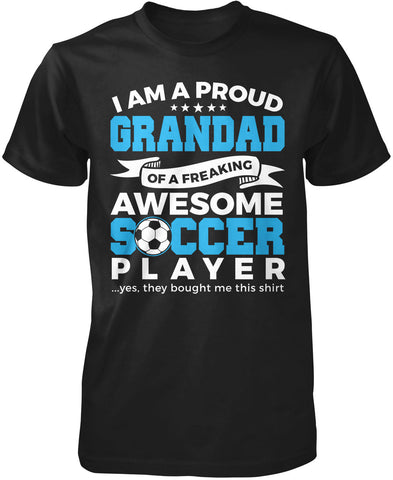 Proud Grandad of An Awesome Soccer Player T-Shirt