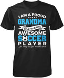 Proud Grandma of An Awesome Soccer Player T-Shirt