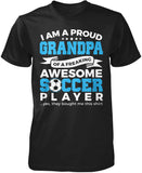 Proud Grandpa of An Awesome Soccer Player T-Shirt