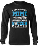 Proud Mimi of An Awesome Soccer Player Longsleeve T-Shirt