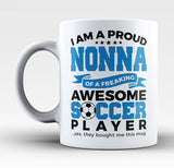 Proud Nonna of An Awesome Soccer Player - Mug