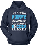 Proud Poppy of An Awesome Soccer Player