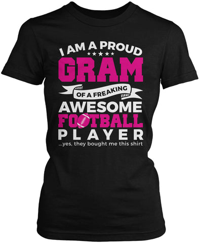 Proud Gram of An Awesome Football Player Women's Fit T-Shirt