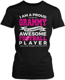 Proud Grammy of An Awesome Football Player Women's Fit T-Shirt